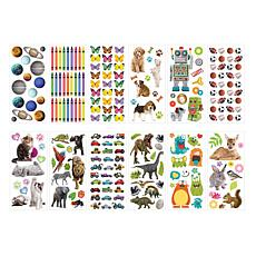 Paper House Kids Mix - Puffy Sticker Set