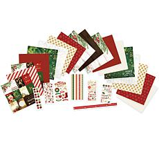 Paper House Merry and Bright Paper Crafting Bundle
