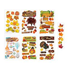 Paper House Thanksgiving Paper Crafting Sticker Bundle