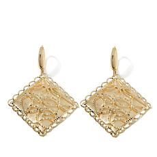 Passport to Gold 14K Diamond-Shaped Earrings