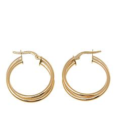 Passport to Gold 14K Yellow Gold Double-Hoop Earrings