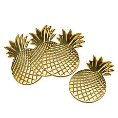 Patricia Altschul Pineapple Coaster Set