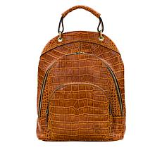 Patricia Nash Alencon Heritage Leather Backpack