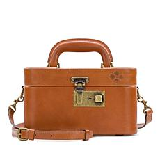 Patricia Nash Brescia Leather Mini Train Case