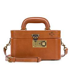 Patricia Nash Brescia Leather Mini Train Case