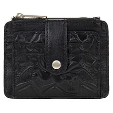 Patricia Nash Cassis Leather ID Wallet with RFID Protection