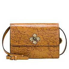Patricia Nash Consilina Floret Leather Crossbody Bag