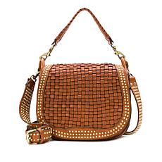 Patricia Nash Discovery Acerra Leather Crossbody