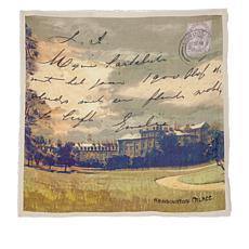 Patricia Nash Discovery Square Postcard Scarf
