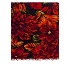 Patricia Nash Floral Print Scarf