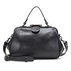 Patricia Nash Gracchi Leather Frame Satchel