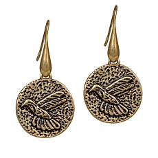 Patricia Nash Hummingbird Drop Earrings