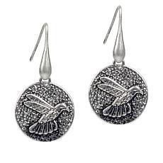 Patricia Nash Hummingbird Drop Earrings