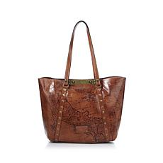 Patricia Nash Leather Benvenuto Convertible Tote