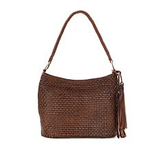 Patricia Nash Marcelli Woven Leather Hobo