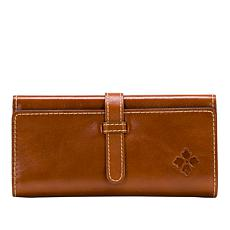 Patricia Nash Marly Leather Wristlet Wallet