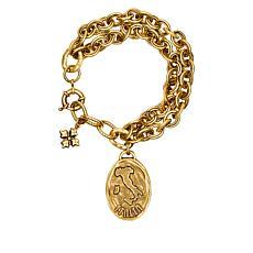 "Patricia Nash  Romantic Travel Italia 8-1/2"" Double-Row Bracelet"