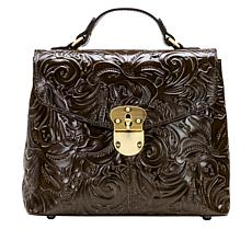 Patricia Nash Sinclair Leather Convertible Backpack