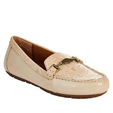Patricia Nash Tosca Tooled Leather Slip-On Loafer