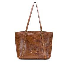 Patricia Nash Treviso Leather Tote