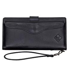 Patricia Nash Valentia Leather Wristlet Wallet