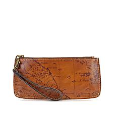 Patricia Nash Vercelli Signature Map Wallet Wristlet