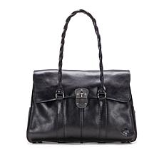 Patricia Nash Vienna Leather Satchel