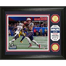 Patriots Super Bowl LIII MVP Bronze Coin Photo Mint/The Highland Mint