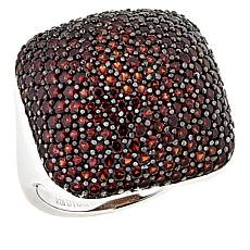 Paul Deasy Gem Sterling Silver Pyrope Garnet Dome Ring