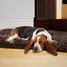 PAW Lavish Cushion Pillow Furry Pet Bed - S