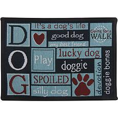 "PB Paws ""I Love Dogs"" Pet Mat"