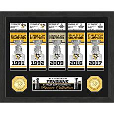 Penguins Stanley Cup Championship Banner Collection
