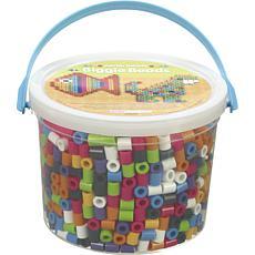 Perler Biggie Beads Assorted Colors 1,200 Count - 2-pack