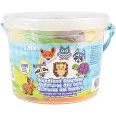 Perler Fused Bead Bucket Kit Woodland Creatures  - 2-pack
