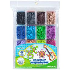 Perler Fused Double Bead Tray 8,000-pack
