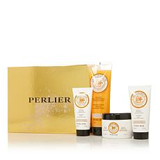 Perlier Agrumarium 4-piece Bath and Body Set with Box