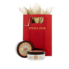 Perlier Agrumi Body Cream Duo with Gift Bag