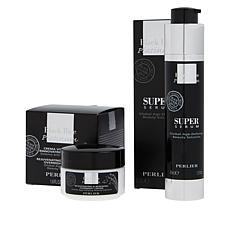 Perlier Black Rice Serum and Night Cream 2-piece Set