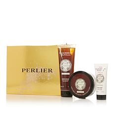Perlier Caribbean Vanilla 3-piece Bath and Body Set with Box