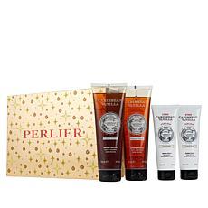 Perlier Caribbean Vanilla 4-Piece Holiday Set
