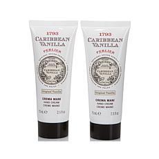 Perlier Caribbean Vanilla Hand Cream Duo