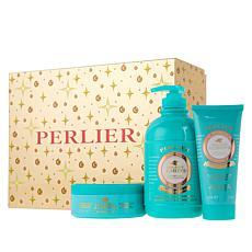 Perlier Golden Almond 3-Piece Holiday Set