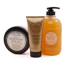 Perlier Honey Anti-Aging Bath and Body Set