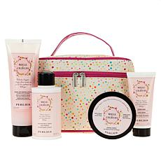 Perlier Honey Cherry Blossom 4-piece Set with Tote