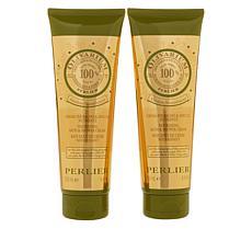 Perlier Olivarium Bath and Shower Cream 2-pack