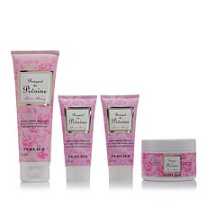 Perlier Pink Peony 4-piece Bath and Body Set