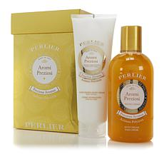 Perlier Precious Aroma Bath and Body Cream 2pc Set