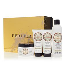 Perlier Shea Butter 4-piece Bath and Body Set with Box