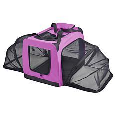 Pet Life Extra-Small Soft Folding Collapsible Expandable Pet Dog Crate