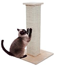 "PETMAKER 28"" Sisal Burlap Cat Scratching Post"